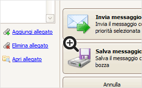 Gestione messaggi email